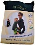 Amazonas - Babytrage Smart Carrier Ultra Light - Kinderkraxe grau/schwarz/beige