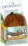 Amazonas - Moskito-Traveller Pro - Hängematte Gr 220 x 140 cm braun/grau/weiß
