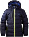 Bergans - Down Youth Jacket - Daunenjacke Gr 128;140;152;164 türkis/schwarz;bla
