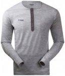 Bergans - Henley Wool Shirt - Longsleeve Gr M grau