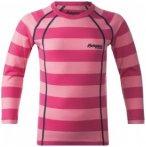 Bergans - Kids Fjellrapp Shirt - Funktionsshirt Gr 92 rosa