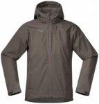 Bergans - Microlight Jacket - Windjacke Gr S schwarz/grau/braun