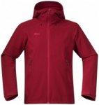 Bergans - Ramberg Softshell Jacket - Softshelljacke Gr L;M;S;XL;XXL schwarz;rot