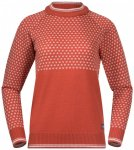 Bergans - Women's Alvdal Wool Jumper - Merinopullover Gr M;XL;XS grau;rot;schwar