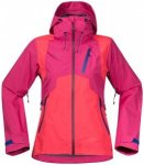 Bergans - Women's Cecilie Jacket - Hardshelljacke Gr L;M;S;XS rosa/rot;blau/grau