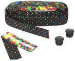 Bike Ribbon - Lenkerband COLORDOTS - Lenkerband schwarz