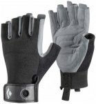 Black Diamond - Crag Half Finger Glove Gr XS schwarz/grau