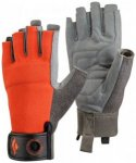 Black Diamond - Crag Half Finger Glove Gr XS grau/rot