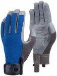 Black Diamond - Crag Rock Glove - Klettersteighandschuhe Gr XS grau/blau/schwarz