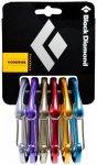 Black Diamond - HoodWire - Schnappkarabiner (Wire) Gr Rackpack schwarz/grau
