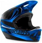 Bluegrass - Legit - Fullfacehelm Gr XL schwarz/blau