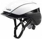 Bollé - Messenger Premium Hi-Vis - Radhelm Gr 54-58 cm - M schwarz/grau/weiß