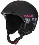 Bollé - Synergy - Skihelm Gr 52-54 cm;58-61 cm schwarz;rosa/schwarz/lila