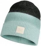 Buff - Knitted Hat Yulia - Mütze Gr One Size grau/schwarz