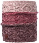 Buff - Knitted Neckwarmer Comfort Nuba - Schal Gr One Size rot/grau/rosa
