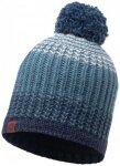 Buff - Knitted & Polar Hat Borae - Mütze Gr One Size blau/schwarz/grau