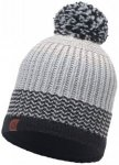 Buff - Knitted & Polar Hat Borae - Mütze Gr One Size grau/schwarz