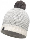 Buff - Knitted & Polar Hat Dorn - Mütze Gr One Size grau/weiß