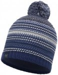Buff - Knitted & Polar Hat Neper - Mütze Gr One Size blau/grau/schwarz