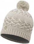 Buff - Women's Knitted & Polar Hat Savva - Mütze Gr One Size grau/weiß