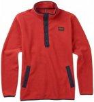 Burton - Hearth Fleece Pullover - Fleecepullover Gr L;M;S;XL rot;blau;grau/oliv/