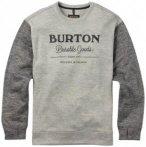 Burton - Oak Crew - Pullover Gr L;M;S;XL;XXL rot/beige;blau