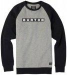 Burton - Vault Crew - Pullover Gr M grau/schwarz