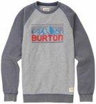 Burton - Vista Crew - Pullover Gr L;M;S;XL;XXL beige/oliv;schwarz
