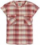 Burton - Women's Darcie S/S - Bluse Gr S;XS grau/beige/rot