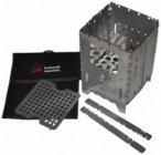 Bushcraft Essentials - Bushbox XL Profi Set - Trockenbrennstoffkocher metallic