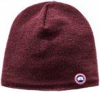 Canada Goose - Merino Wool Beanie - Mütze Gr One Size lila/rot