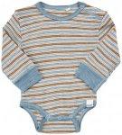 CeLaVi - Kid's Body L/S Wonder Wollies - Merinounterwäsche Gr 70 grau/beige
