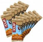 Clif Bar - Crunchy Peanut Butter - Energieriegel Gr 12 x 68 g