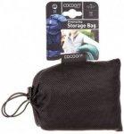 Cocoon - Schlafsack-Aufbewahrungsbeutel Mesh Gr 85 / 35 cm schwarz