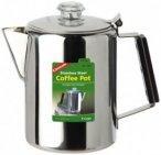 Coghlans - Edelstahlkanne Coffee Pot - Topf Gr 12 Tassen grau/schwarz