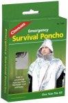 Coghlans - Survival-Poncho - Rettungsdecke grau