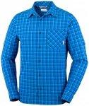 Columbia - Triple Canyon Long Sleeve Shirt - Hemd Gr M blau