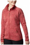 Columbia - Women's Chillin Fleece Non Hooded - Fleecejacke Gr L rot/rosa