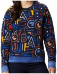 Columbia - Women's Exploration Fleece Crew - Fleecepullover Gr M schwarz/blau