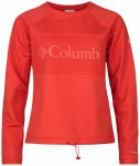 Columbia - Women's Windgates Fleece Crew - Fleecepullover Gr L rot