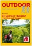 Conrad Stein Verlag - E4: Eisenach - Budapest - Wanderführer 1. Auflage 2014