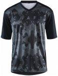 Craft - Hale XT Jersey - Radtrikot Gr M schwarz/grau