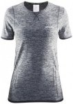 Craft - Women's Active Comfort RN SS - T-Shirt Gr XS grau/schwarz