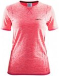 Craft - Women's Active Comfort RN SS - T-Shirt Gr XS rot/rosa