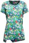 Crazy Idea - Women's T-Shirt Aloha - T-Shirt Gr L;S;XS grau/lila/rosa;lila/rosa/