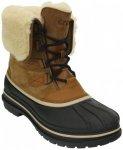 Crocs - AllCast II Luxe Boot - Winterschuhe Gr M9 schwarz/braun/beige