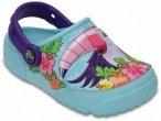 Crocs - Kid's Crocsfunlab Lights - Outdoorsandalen Gr J3 türkis
