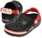 Crocs - Kid's CrocsLights Star Wars Vader - Outdoorsandalen Gr C8 schwarz/rot