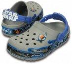 Crocs - Kid's CrocsLights StarWarsXwing Clog Gr C8 grau/blau