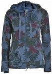 Deha - Women's Hoodie Full Zip Jacket - Fleecejacke Gr L;S;XL grau;blau/schwarz